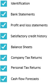 Business line of credit - Documents